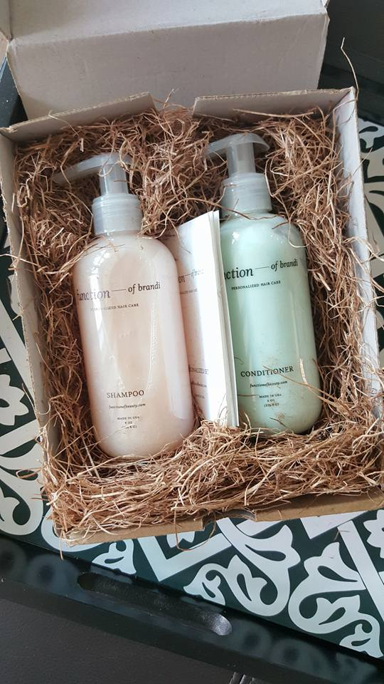 #hairgoals, personalized shampoo and conditioner, function of beauty