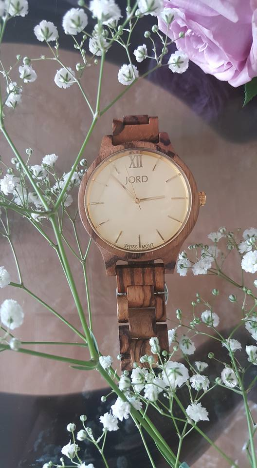 JORD wood watch Zebrawood