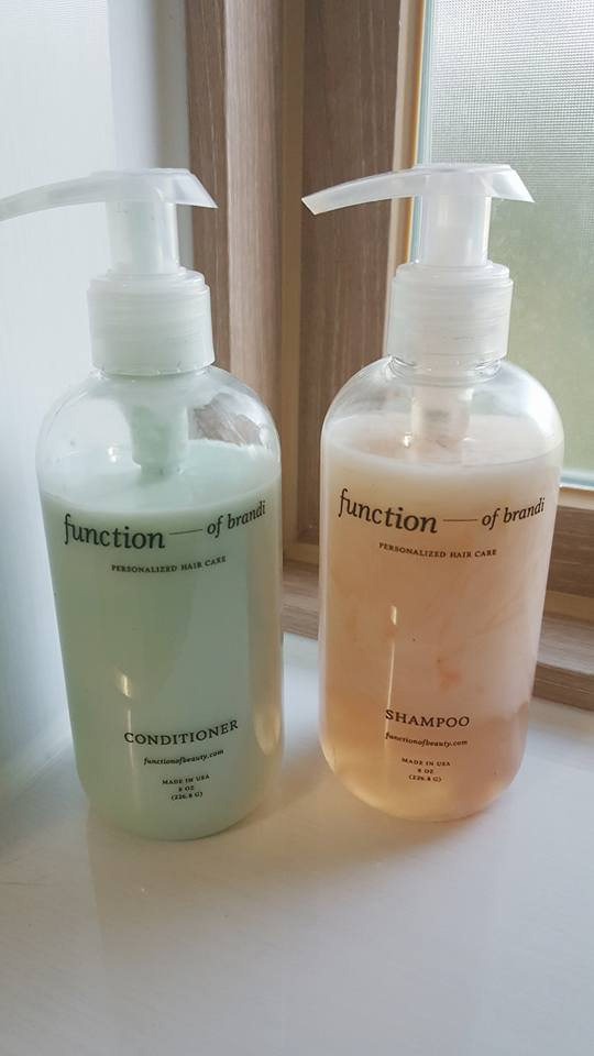 Function of Beauty, 8oz bottle, hair goals, new way to buy shampoo