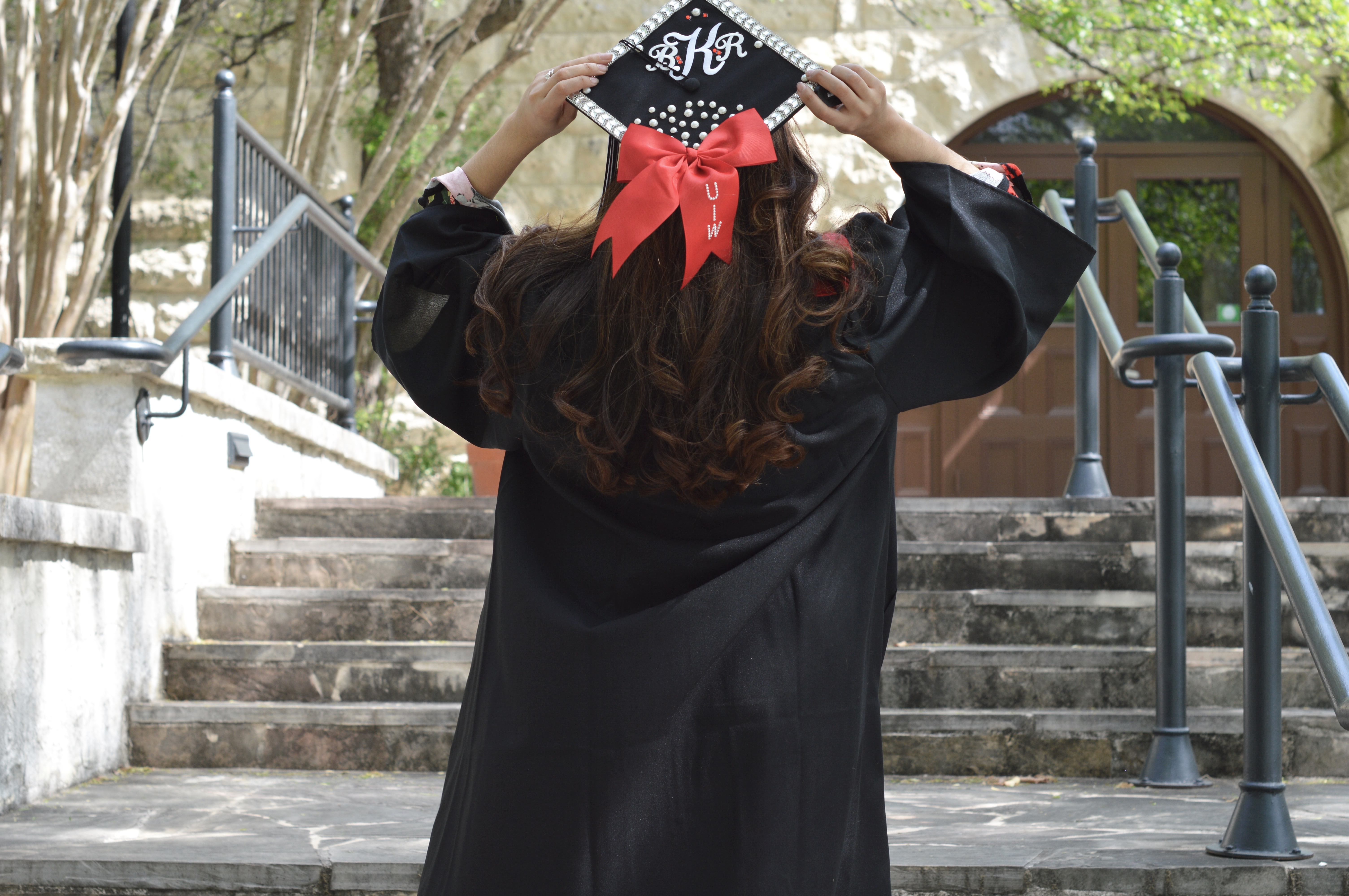 Graduating From UIW 2017 + What To Wear With Your Cap & Gown ...