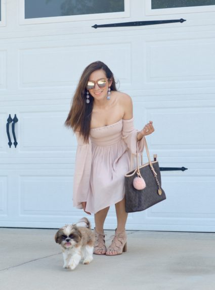 Tobi's Off The Shoulder Dress For Less Than $40