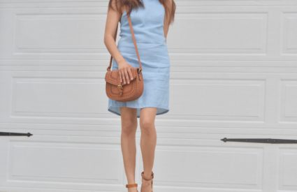 Collaboration With Tobi + Blue Shift Dress for Summer