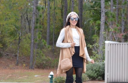 Thanksgiving Look + Life Lately