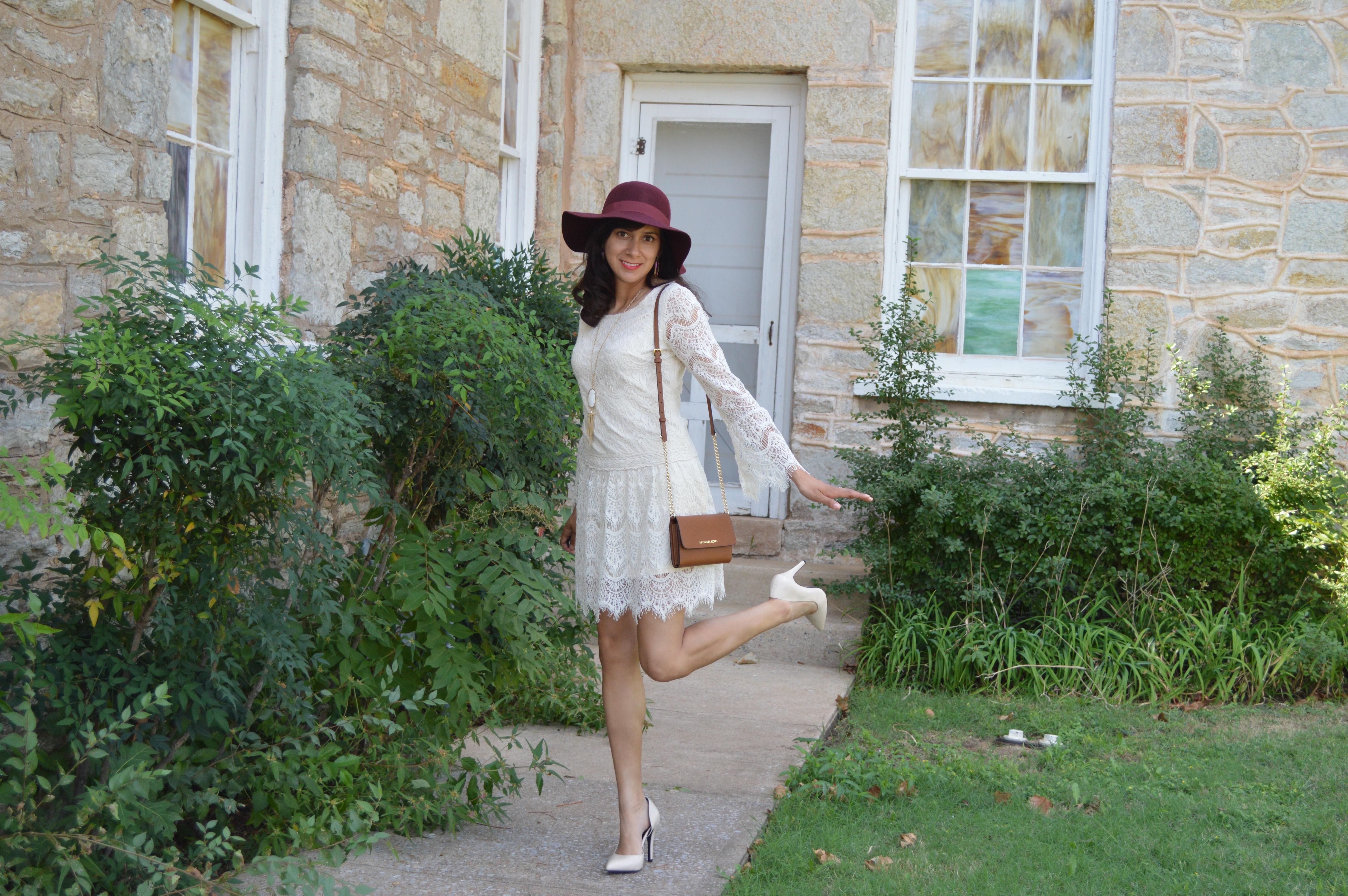 Lace Dress on a Romantic Sunday <3  September 27, 2015