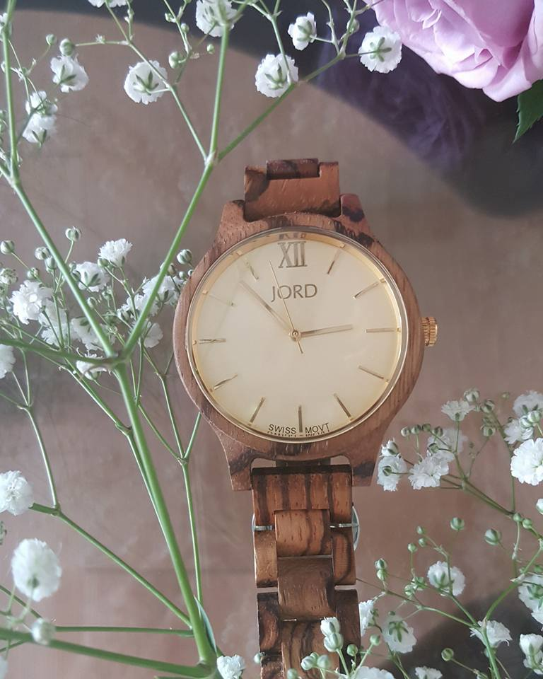 woodwatch, unique gifts, zebra wood, watches, Jord watches