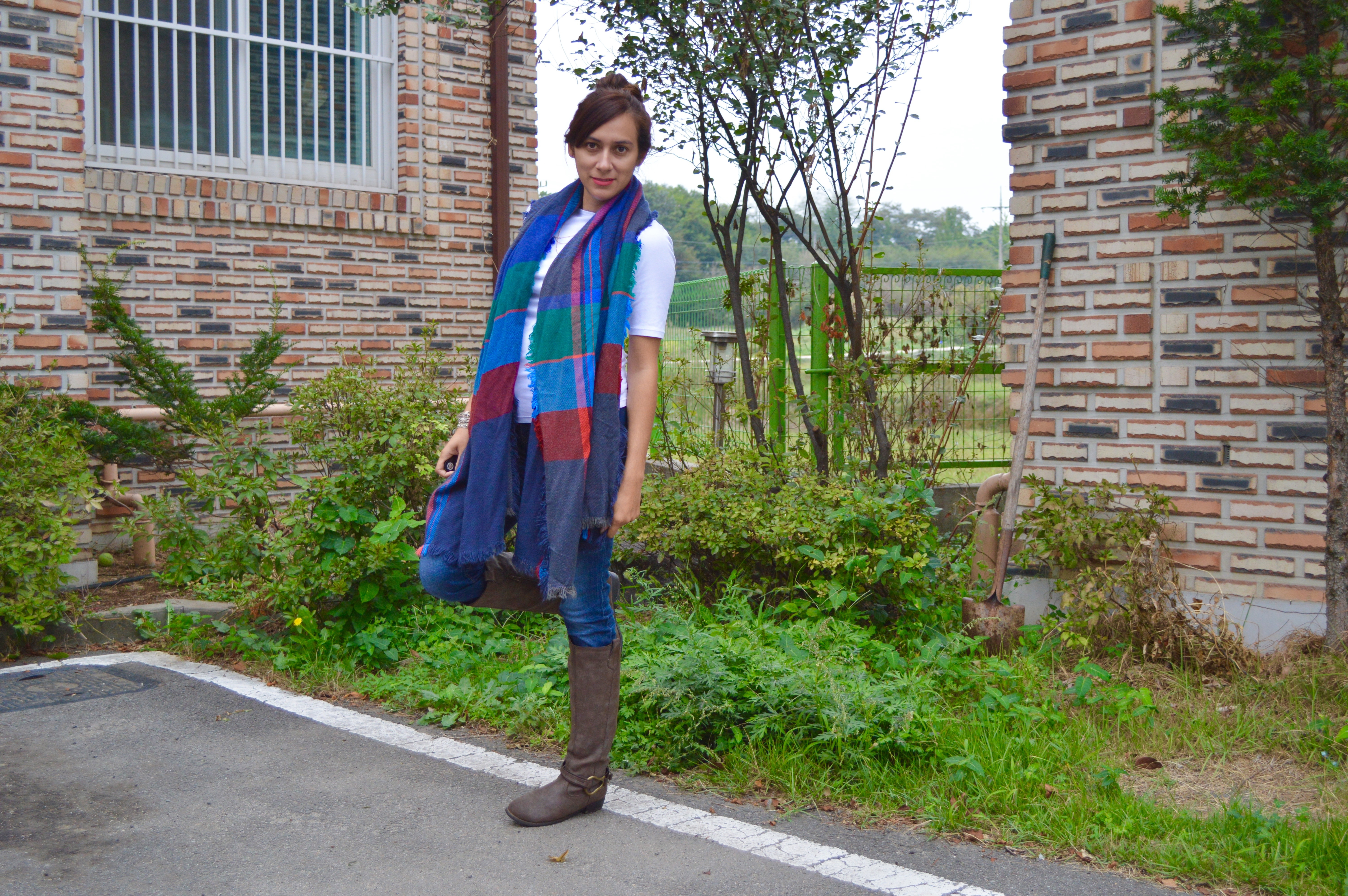 fall, scarf, trends, girl fashion, fashion, fashion blogger, blanket scarf, how to wear a scarf