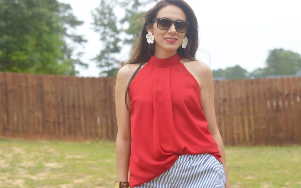 How to Collaborate with Brands + Another Memorial Day Weekend Outfit