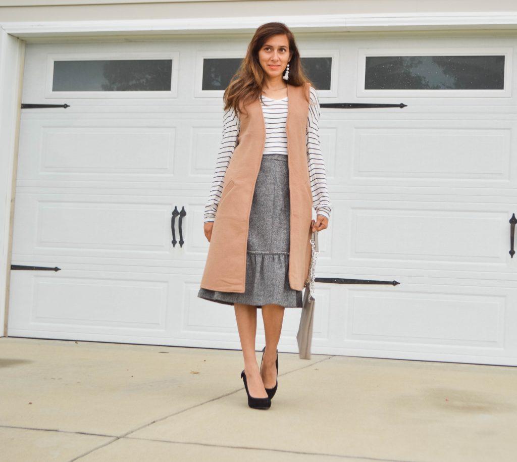 Truth Behind Blogging, long vest